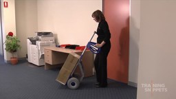 Using a Hand Trolley: Office