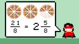 Mixing It up with Improper Fractions (Advanced)