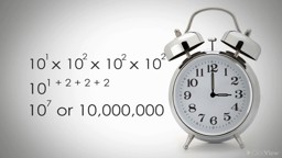 Exponents and Index Laws